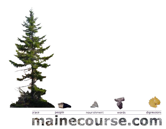 Maine Camping Image Map